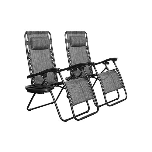 Patio Chaise Lounges Set