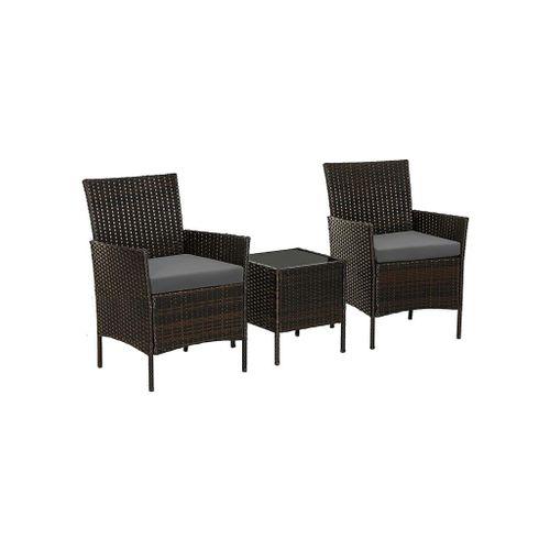 Patio PE Wicker Chairs