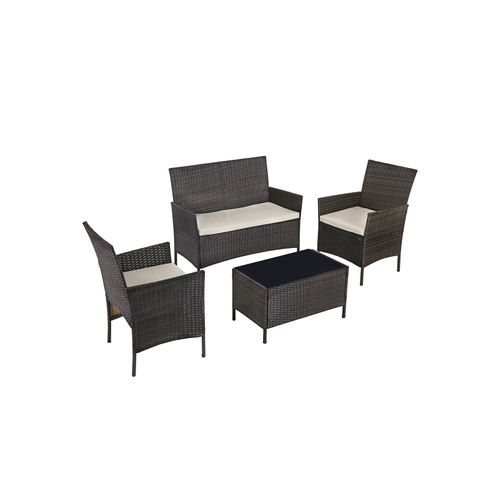 Polyrattan Garden Furniture Set