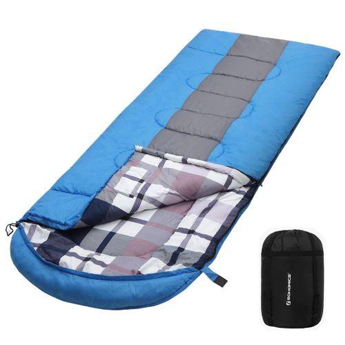 Blue Stripes Sleeping Bag
