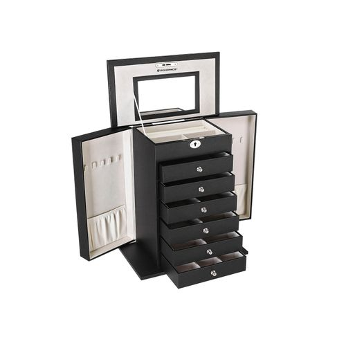 6 Drawers Jewelry Box