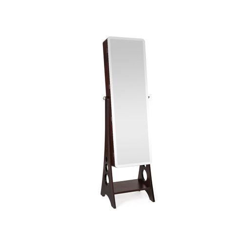 Full Mirror Jewelry Armoire