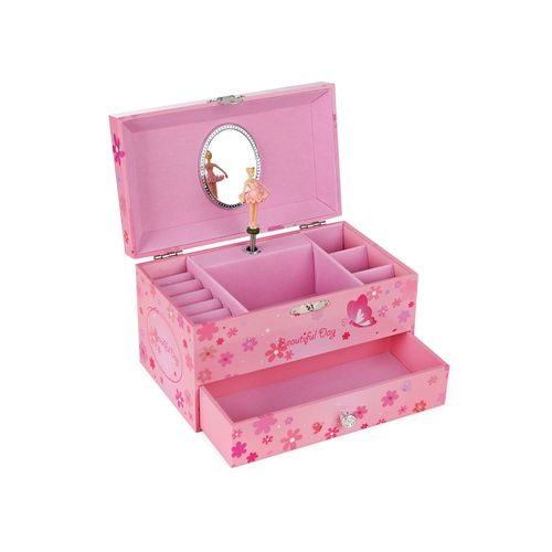 Ballerina Music Jewelry Box