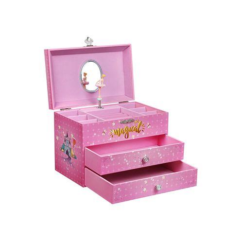 Ballerina Music Storage Box