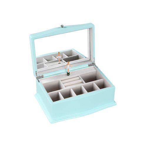 Blue Music Jewelry Box