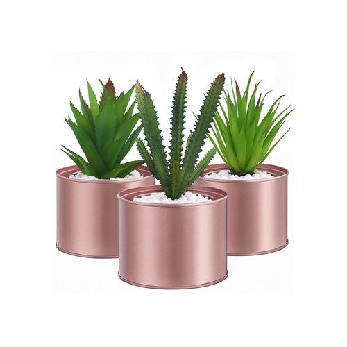 Potted Artificial Plants Set