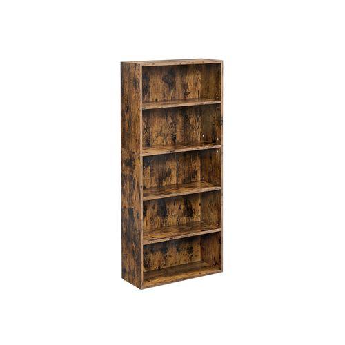 Bookshelf Rustic Brown
