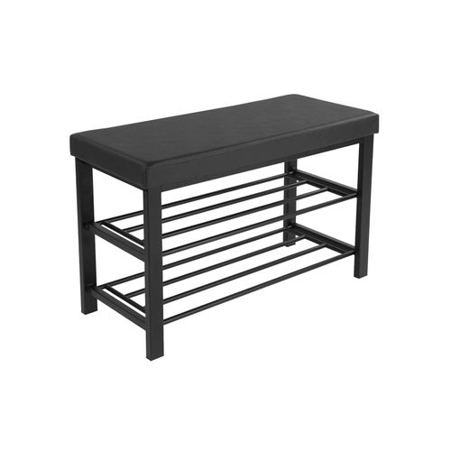 Metal Shoe Rack Bench
