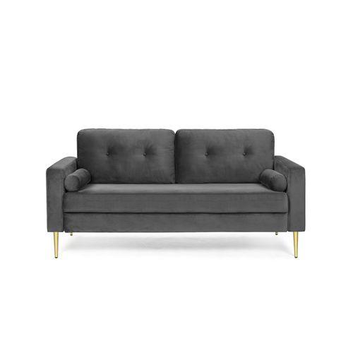 Velvet Surface Sofa