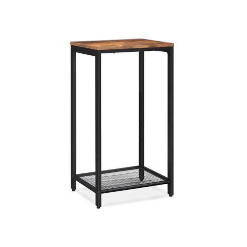 Mesh Shelf Telephone Table