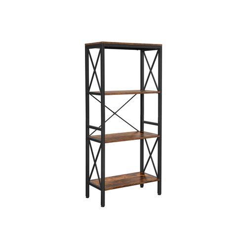 4 Open Shelves Bookcase
