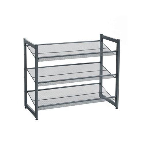 Tier Adjustable Shoe Shelf