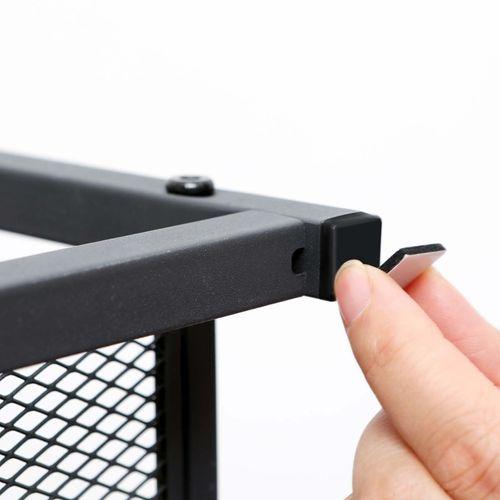 Sangle /à Soufflet Noire 7cm SM SunniMix Support /à Soufflet 7 Cm ~ 8,6 Cm Fermoir /à Soufflet pour Accord/éon