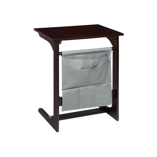 Dark Bamboo Side Table