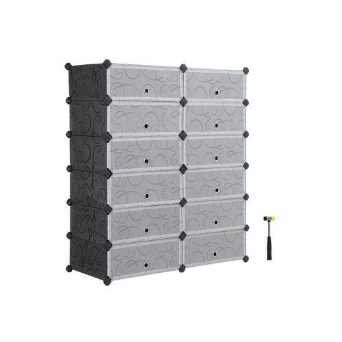 DIY Plastic Storage Organizer
