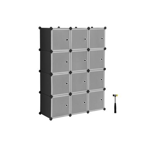 12 Cubes Closet Cabinet