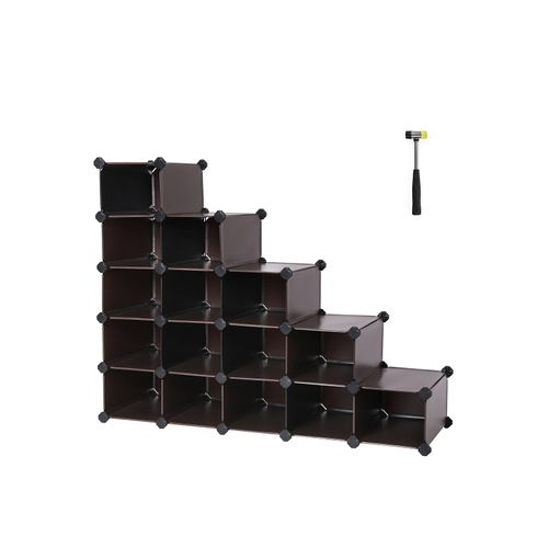 15 Cubes Shoe Rack
