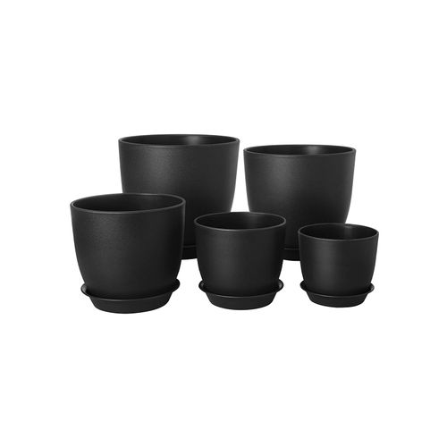 Plastic Plant Pots Black