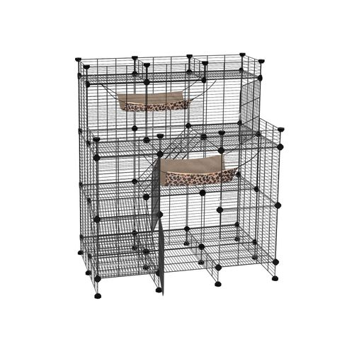 Multi Tier Cat Playpen