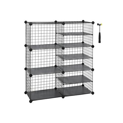 Metal Cube Storage Unit