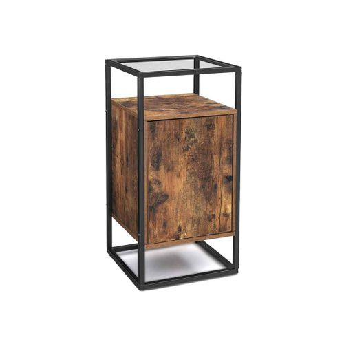 Steel Frame Side Table
