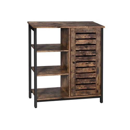 Industrial Storage Cabinet With Shelves, Rustic Storage Cabinets