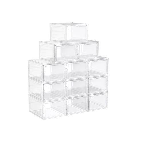 White Shoe Boxes Set of 12