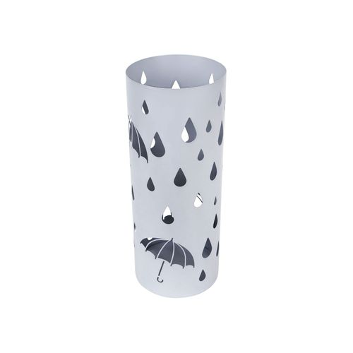 Silver Gray Umbrella Holder