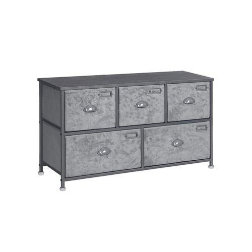5 Drawers Fabric Dresser