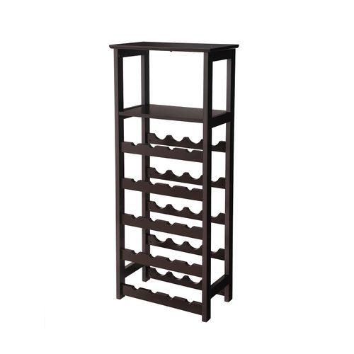 Wooden Display Wine Rack