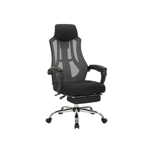 Mesh Office Chair Black and Dark Gray