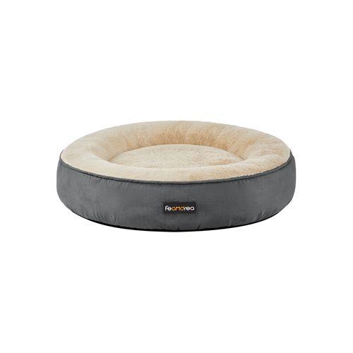 Washable Dog Bed Dark Gray