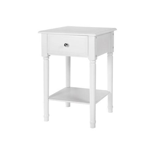 Single Drawer Corner Table