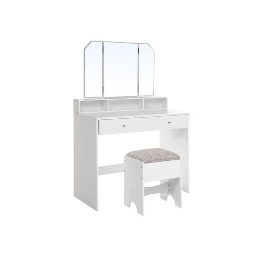 Foldable Mirror Vanity Set