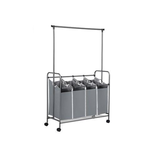 Hanging Bar Laundry Cart