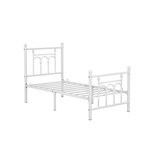 Twin Size Bed with Headboard
