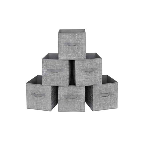 6 Storage Boxes Set