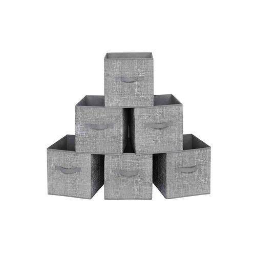 6 Storage Boxes Set