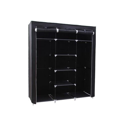 Black Portable Clothes Closet