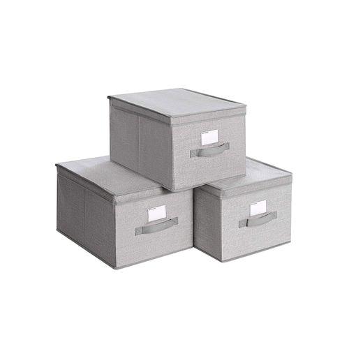 3 Fabric Storage Boxes