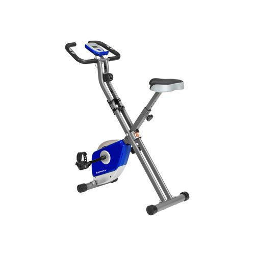 Exercise Bike Blue and Silver
