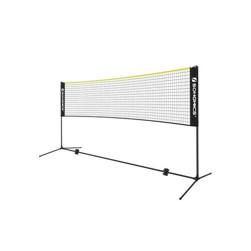 Badminton Net SetBlack and Yellow