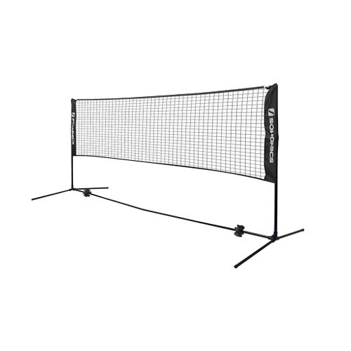 Portable Black Badminton Net