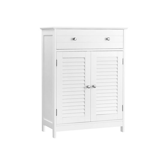 2 Louvered Doors Cabinet