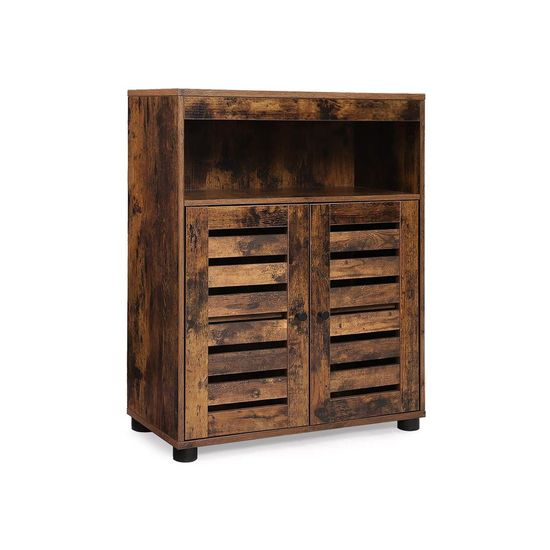 Cupboard with Louvered Doors