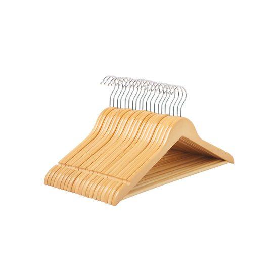 20 Pack Wooden Hangers