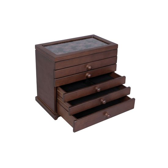 Clover Carving Jewelry Organizer