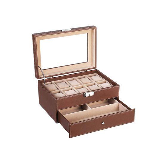 Brown Large Watch Box