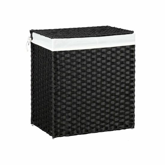 Synthetic Rattan Laundry Hamper
