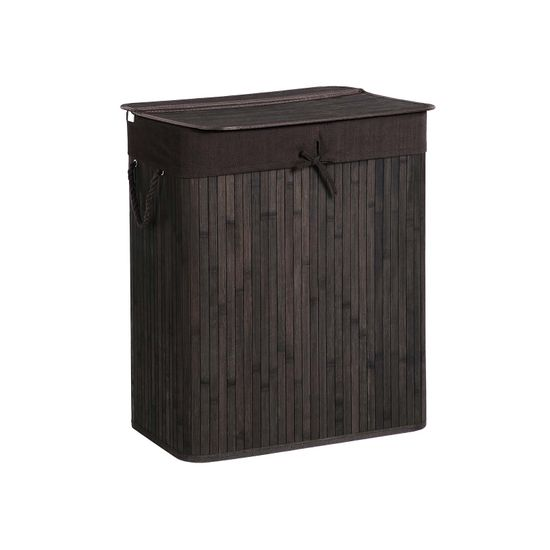 Two-Section Laundry Basket